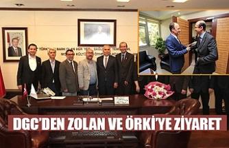 DGC'DEN Zolan ve Örki'ye ziyaret
