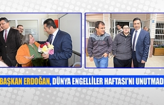 Başkan Erdoğan, Dünya Engelliler Haftası'nı unutmadı