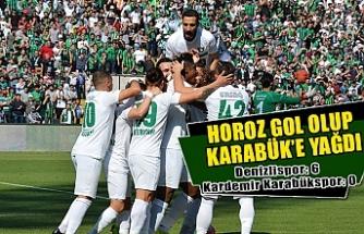 Horoz gol olup Karabük'e yağdı