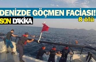Denizde göçmen faciası!
