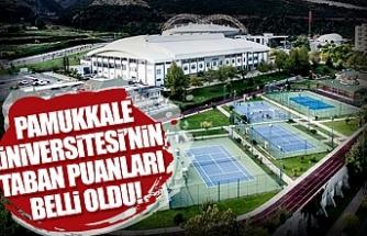 Denizli Pamukkale Üniversitesi taban puanları 2019