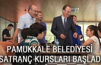 Pamukkale Belediyesi Satranç Kursları Başladı