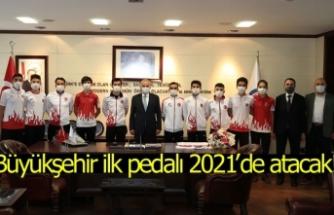Büyükşehir ilk pedalı 2021'de atacak!