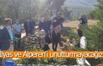 İlyas ve Alperen'i unutturmayacağız