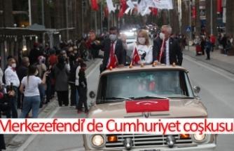 Merkezefendi'de Cumhuriyet coşkusu