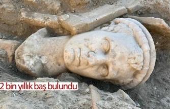 2 bin yıllık baş bulundu