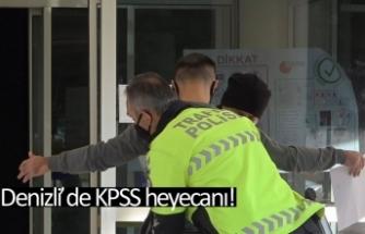 Denizli'de KPSS heyecanı!