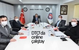 DTO'da online çalıştay