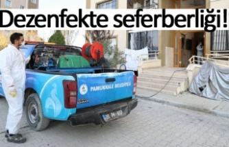 Pamukkale'den dezenfekte seferberliği!