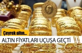 Altın fiyatları durdurulamıyor
