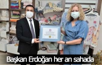Başkan Erdoğan her an sahada