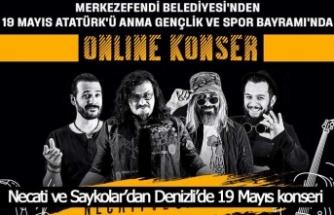Necati ve Saykolar'dan Denizli'de 19 Mayıs konseri