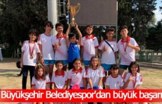 Büyükşehir Belediyespor'dan büyük başarı