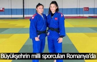Büyükşehrin milli sporcuları Romanya'da