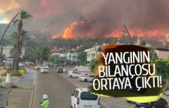 Korkunç yangının bilançosu ortaya çıktı!