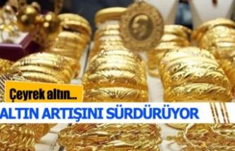 Altın fiyatları uçuyor
