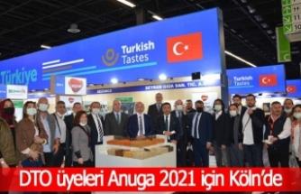 DTO üyeleri Anuga 2021 için Köln'de