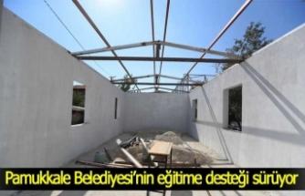 Pamukkale Belediyesi'nin eğitime desteği sürüyor