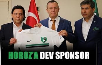 Horoz'a dev sponsor