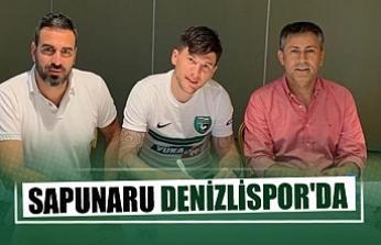 Sapunaru Denizlispor'da