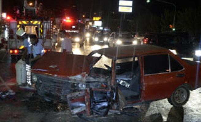 Bodrum'da feci kaza, 2 yaralı