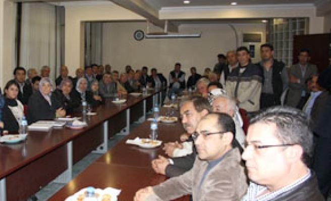 Zeybekci, mahalle teşkilatlarıyla buluştu