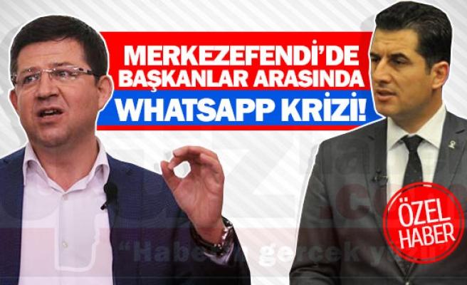 Merkezefendi'de Başkanlar arasında whatsapp krizi!