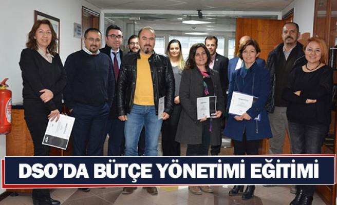 DSO'da bütçe yönetimi eğitimi