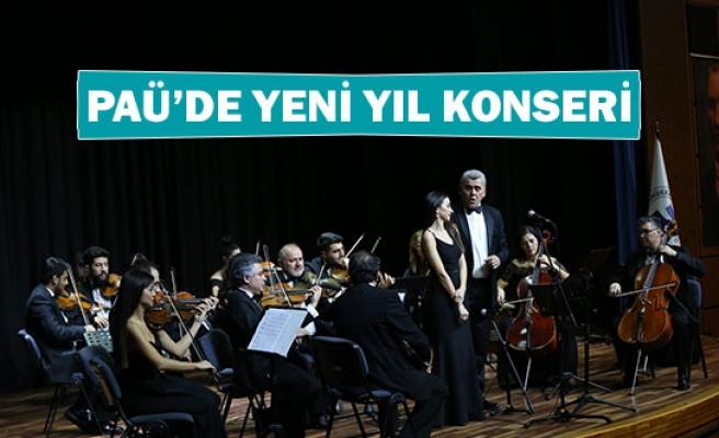 PAÜ'de yeni yıl konseri
