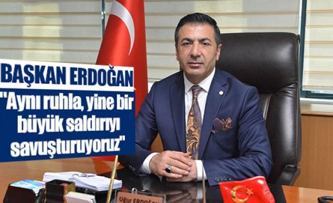 """Başkan Erdoğan: """"Aynı ruhla, yine bir büyük saldırıyı savuşturuyoruz"""""""