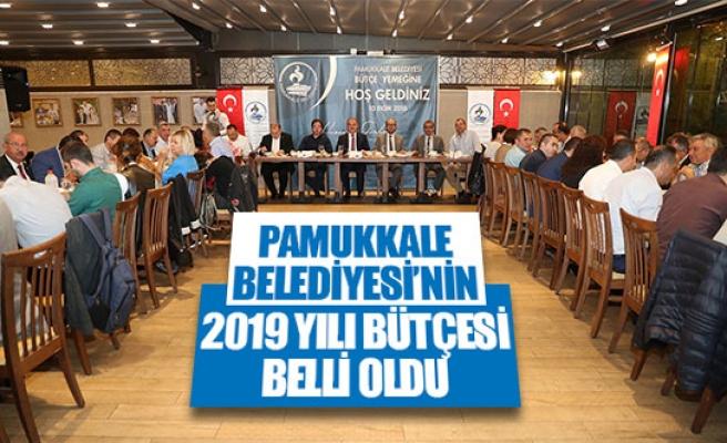 Pamukkale Belediyesi'nin 2019 yılı bütçesi belli oldu