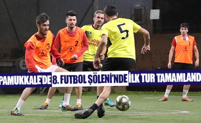 Pamukkale'de 8. Futbol Şöleni'nde ilk tur tamamlandı