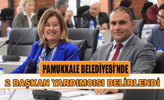 Pamukkale Belediyesi'nde 2 başkan yardımcısı belirlendi