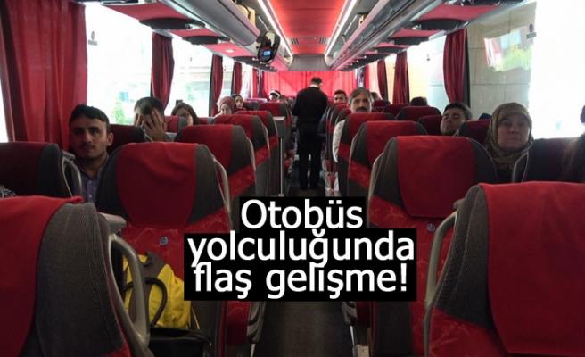 Otobüs yolculuklarında flaş gelişme!