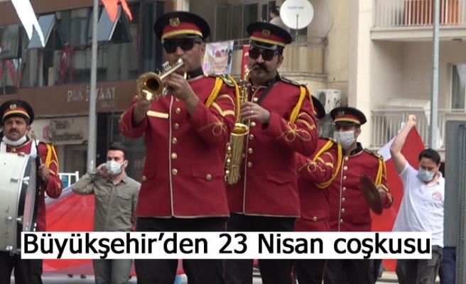 Büyükşehir'den 23 Nisan coşkusu
