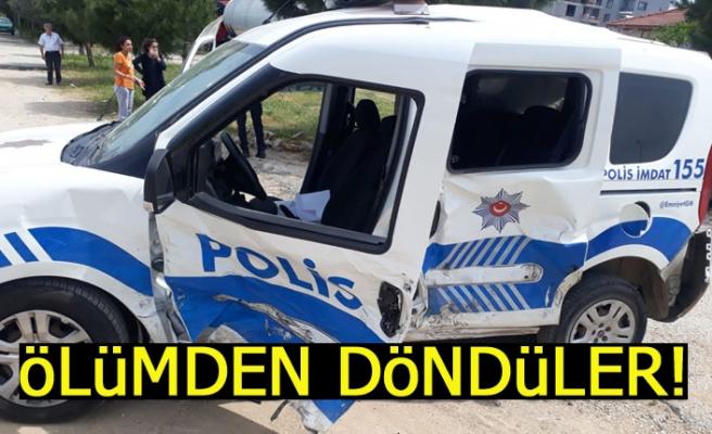 Polisler ölümden döndü!