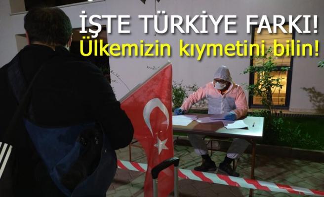 İşte Türkiye farkı!