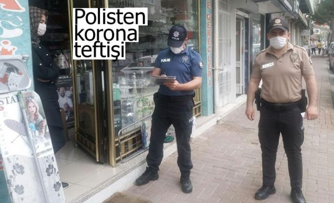 Polisten korona teftişi