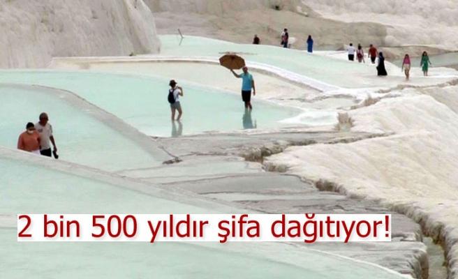 2 bin 500 yıldır şifa dağıtıyor!