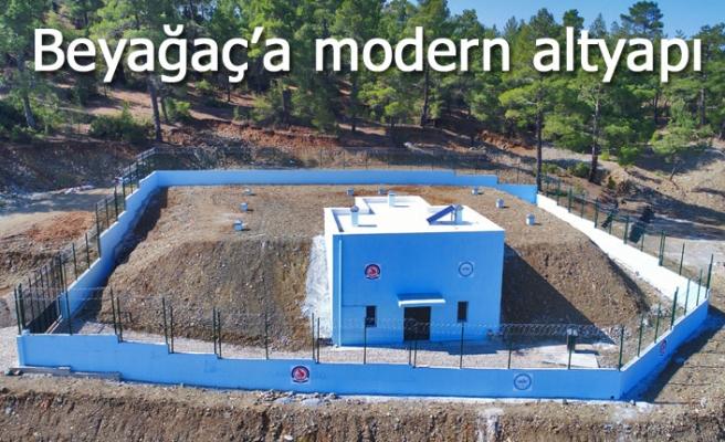 Beyağaç'a modern altyapı