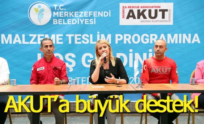 Akut'a büyük destek!
