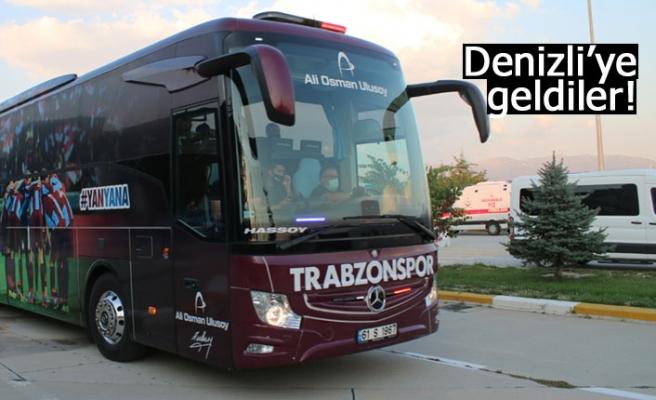 Trabzonspor kafilesi, Denizli'de