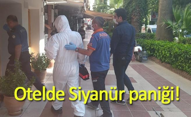 Otelde Siyanür paniği!