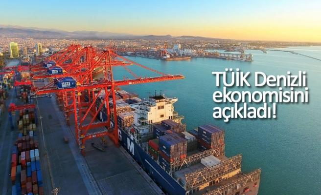 TÜİK Denizli ekonomisini açıkladı!