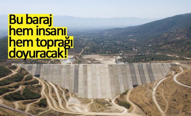 Bu baraj hem insanı hem toprağı doyuracak!