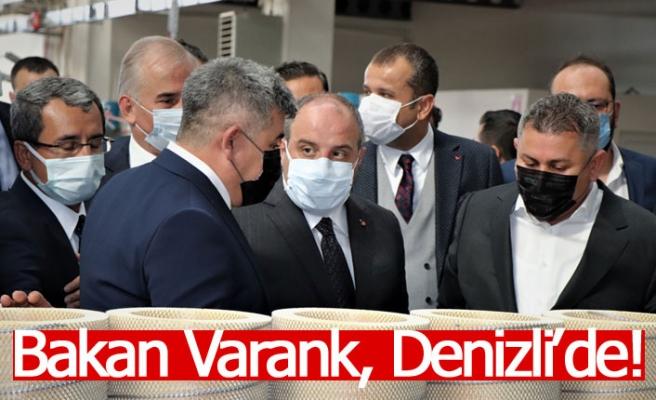 Bakan Varank, Denizli'de!