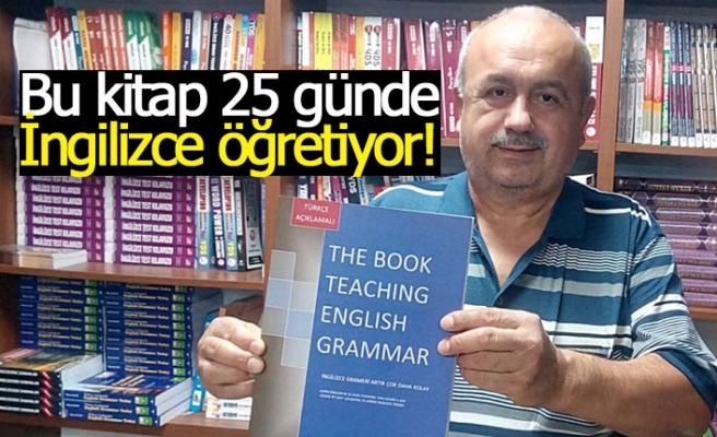 Bu kitap 25 günde İngilizce öğretiyor