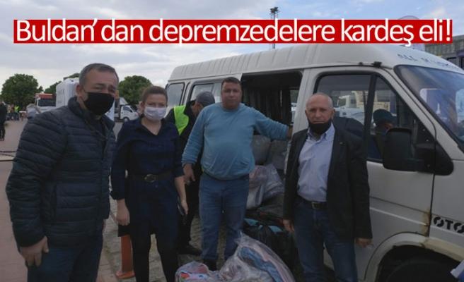 Buldan'dan depremzedelere kardeş eli!