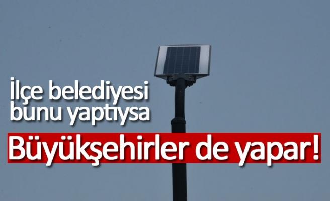 Parklara güneş enerjisi geldi!