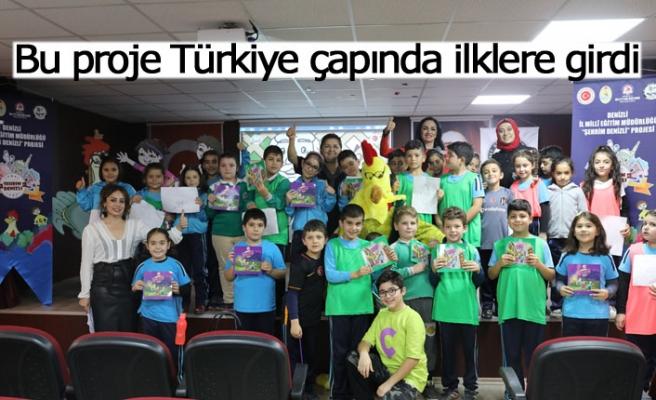 Bu proje Türkiye çapında ilklere girdi